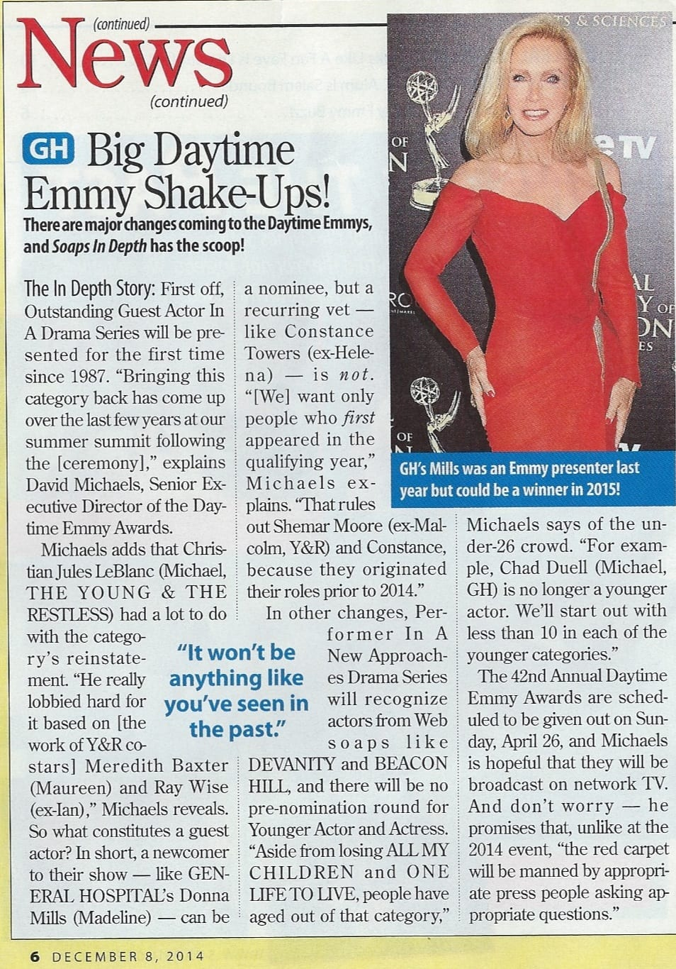 Soaps in Depth Emmy Article 12-8-14